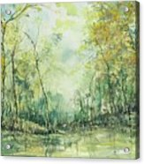 September's Silence  Acrylic Print