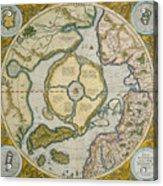 Septentrionalium Terrarum Descriptio Acrylic Print