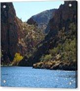 Sequaro Lake Acrylic Print