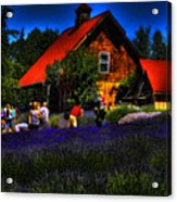 Sequim Lavender Acrylic Print