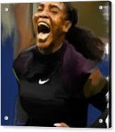 Serena Williams '16 Acrylic Print