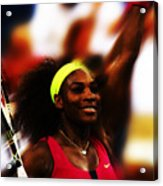 Serena Williams Another Record Set Acrylic Print