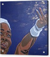 Serena Williams Acrylic Print