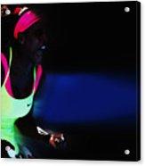 Serena Williams Triumpant Acrylic Print