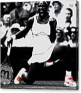 Serena Williams Victory Acrylic Print by Brian Reaves