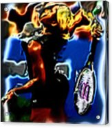 Serena Williams Thermal Catsuit Acrylic Print