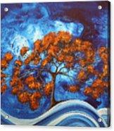 Serendipitous Original Madart Painting Acrylic Print