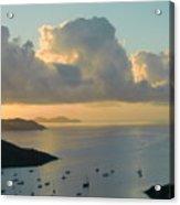 Serene Caribbean Morning Acrylic Print