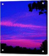 Serene Dawn Acrylic Print