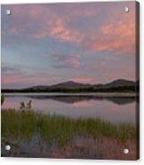 Serene Lake Acrylic Print