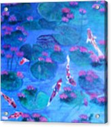 Serene Pond Acrylic Print