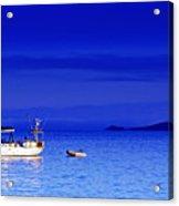 Serene Seas Acrylic Print