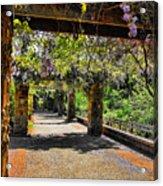 Serene Walkway  Acrylic Print