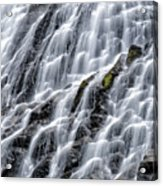 Serene Waterfall Acrylic Print