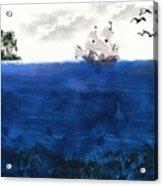 Serenity At Sea Acrylic Print