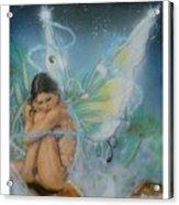 Serenity Acrylic Print by Crispin  Delgado