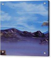 Serenity Lake Acrylic Print