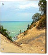 Serenity Path To The Lake Acrylic Print