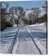 Serenity Road Acrylic Print
