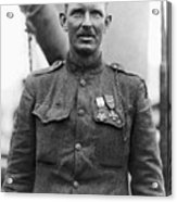 Sergeant York - World War I Portrait Acrylic Print