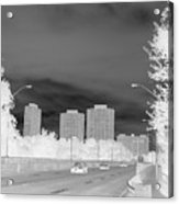 Series Of Black And White 48 Acrylic Print