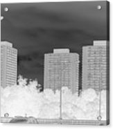 Series Of Black And White 49 Acrylic Print