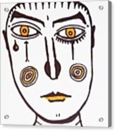 Serious Cry  Acrylic Print