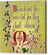 Sermon Acrylic Print