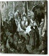 Sermon On The Mount Acrylic Print