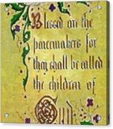 Sermon3 Acrylic Print