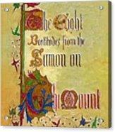 Sermon5 Acrylic Print