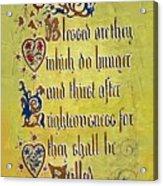 Sermon8 Acrylic Print