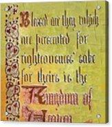 Sermon9 Acrylic Print