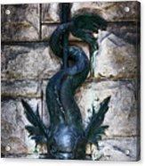 Serpent Fountain Acrylic Print by Doug Sturgess