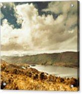Serpentine Dam Tasmania Acrylic Print