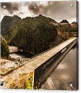 Serpentine River Crossing Acrylic Print