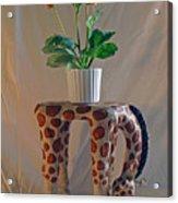 Servant Giraffe Acrylic Print