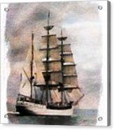 Set Sail Acrylic Print by Aaron Berg