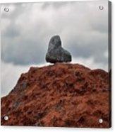 Set Upon A Rock Acrylic Print