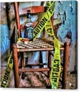 Set With Caution Acrylic Print