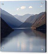Seton Lake Reflection Acrylic Print