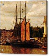 Setting Sail From Bristol Acrylic Print