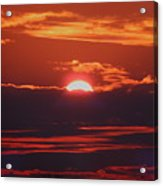 Setting Sun Acrylic Print