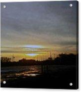 Kankakee Sunset  Acrylic Print