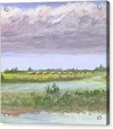 Settlelers Crossing Plain Acrylic Print