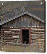 Settler Cabin Acrylic Print