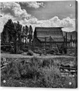 Settler's Barn Acrylic Print