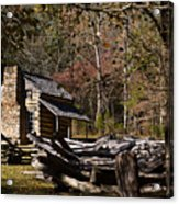 Settlers Cabin Acrylic Print