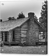 Settlers Cabin Tennessee Acrylic Print
