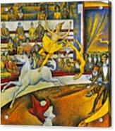 Seurat: Circus, 1891 Acrylic Print